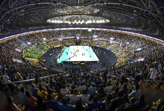 Brasília (DF) - 10.04.2016 - Sada Cruzeiro x Vôlei Brasil Kirin